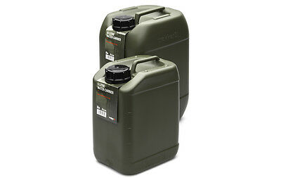 Trakker Compact Water Carrier Jerry Can Carp Fishing Camping Olive Green 5 Litre