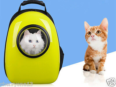 Dog Cat Pet Carrier Outdoor Backpack For Pets Tote Carrier in Public Bus Subway