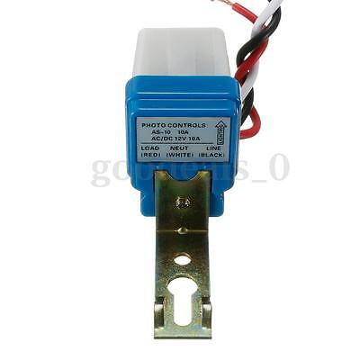 New AC DC 12V 10A Street Light Sensor Switch Auto On-Off Photocell Photoswitch