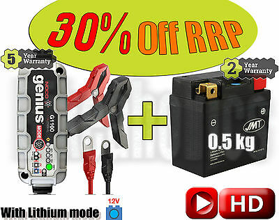 Lithium Deal - Battery + charger -KTM SXF 250 2016