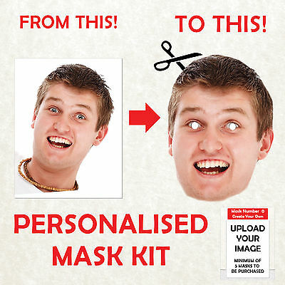 PERSONALISED DIY FACE MASK KIT STAG DO HEN NIGHT PARTY SASH BIRTHDAY New