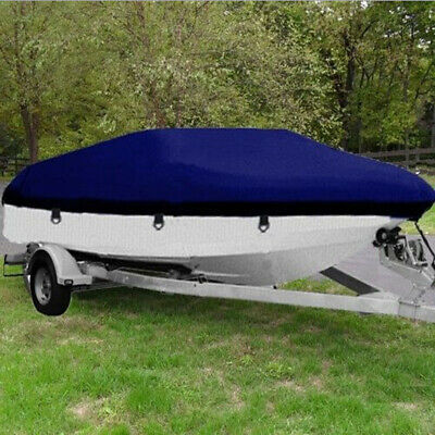 20-22ft Trailerable BOAT COVER Waterproof UV-Protection Fishing Ski Boat