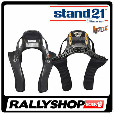 HANS FIA Device Stand21 CLUB SERIES FREE DELIVERY WORLDWIDE M Size, 20 degrees