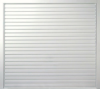 Cardale Merlin Steel Horizontal Up & Over Garage Door - Fully Finished White