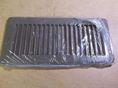 "NEW Hart Cooley Brown Vent Cover 10"" x 4""  420 GS 11307 *FREE SHIPPING*"