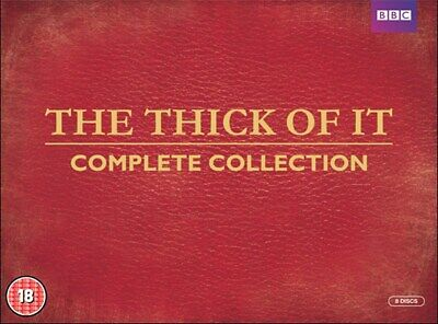 The Thick of It: Series 1-4 [DVD]
