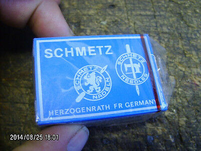 100 pc pack SCHMETZ 151x1 151x5 151x7 SES 80/12 sewing machine needles