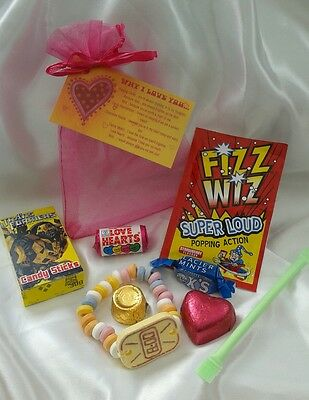 Why I Love You Novelty gift bag - Chocolate -  sweets Birthday Valentines Xmas