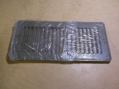"NEW Hart & Cooley 10"" x 4"" Brown Floor Register Vent Cover GS11307 *FREE SHIP*"