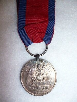 Waterloo Medal 1815 to The 10th Royal Hussars, Daniel Connolly