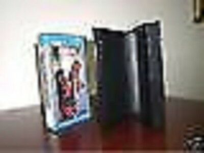 100 Standard Vhs Cases With Full Sleeve - Black - Psv10