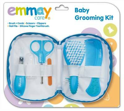 Emmay Care Baby Hair Grooming Kit 6 Essential Pieces Handy Pouch Bag Brand New