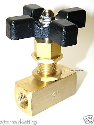 Carpet Cleaning 4000 PSI Brass NEEDLE VALVE
