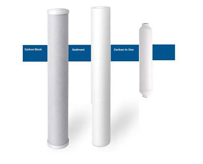 "Reverse Osmosis Drinking Water Filters 2.5 X 20"" 14 Pcs"