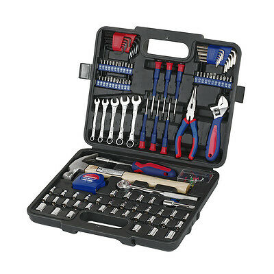 WORKPRO 165PC Handtool Set Bits Ratchet Sockets Wrenches Hex Keys Tool Kit Case