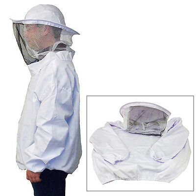 New Beekeeping Protective Jacket Veil Dress Suit With Pull Hat Smock Equipment