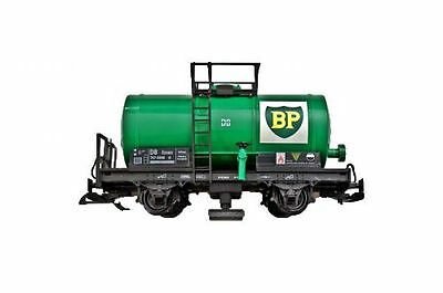 Zenner Tank wagon as Rail cleaning wagon G Scale, Stainless steel wheel sets