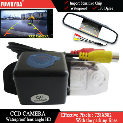 """new 4.3"""" CCD monitor Rear View Camera for  VOLVO S80 SL40 SL80 XC60 XC90 S40 C70"""