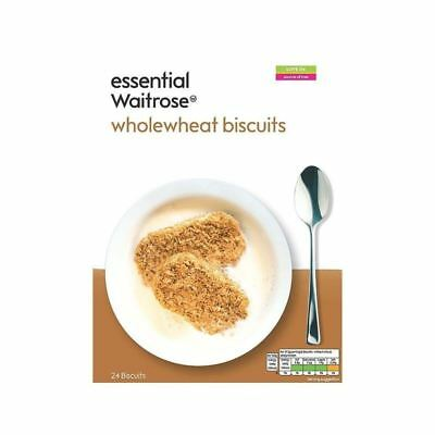 24 Wholewheat Biscuits essential Waitrose 450g