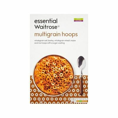 Multigrain Hoops essential Waitrose 375g