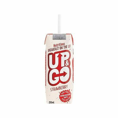 Up&Go Strawberry Breakfast Drink with Oats 250ml