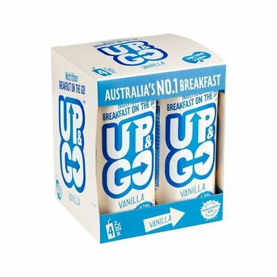 Up&Go Vanilla Breakfast Drink with Oats 4 x 250ml