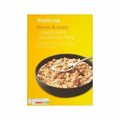 Seriously Maple & Mixed Nut Crisp Waitrose 500g