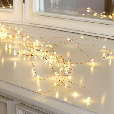 1.4M Indoor Plug In Copper Wire Strand Wedding Micro Fairy String Led Lights