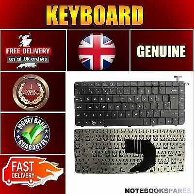 New Black Keyboard for HP PAVILION G6-1241SA with UK Layout