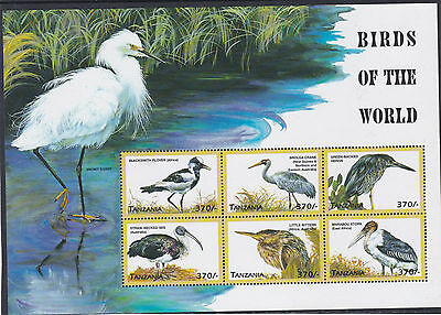 Tanzania  Birds Of The World  Sheet   M / N / H