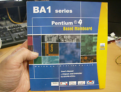 BA1 series PENTIUM 4 Motherboard Manual & QDI UTILITY CD Intel 845PE / GE /GV