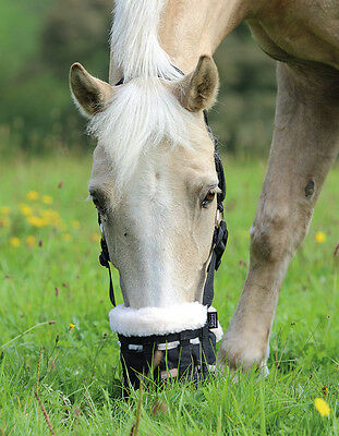 Shires Comfort Deluxe Grazing Muzzle with Fleece Nose | Mask |all sizes on sale