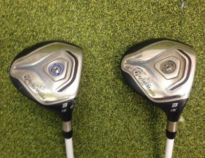 TaylorMade JetSpeed 3 15' Wood fitted with a new Fubuki ZT regular shaft