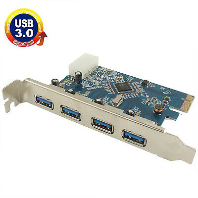 ELETTRONICA USB 3.0 4 ports PCI-E Express Controller Card 5Gbps