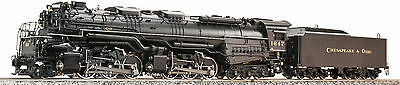 Accucraft AL97-413  H8 Allegheny 2-6-6-6 C&O late #1647 in 1:32 Live Steam, NEW