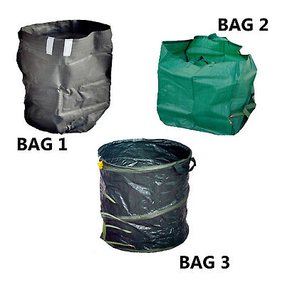 Kingfisher Garden refuse bags, choice of 3 styles / sizes / deals
