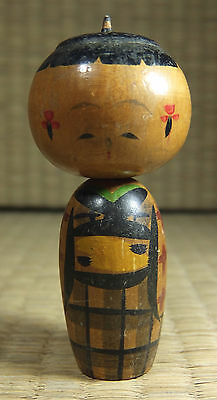 Antique / Vintage Japanese Wooden Kokeshi Doll, Childs Wood Toy From Japan, NICE