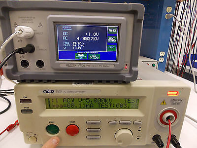 Vitrek V50 Ac / Dc / Safety Analyzer Hipot Tester W/ Probe & Manual *tested*