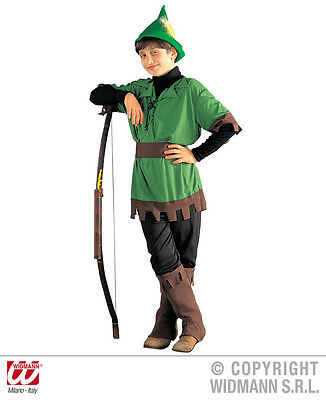 Childrens Robin Hood Fancy Dress Costume Fairy Tale Pantomime Outfit 128Cm