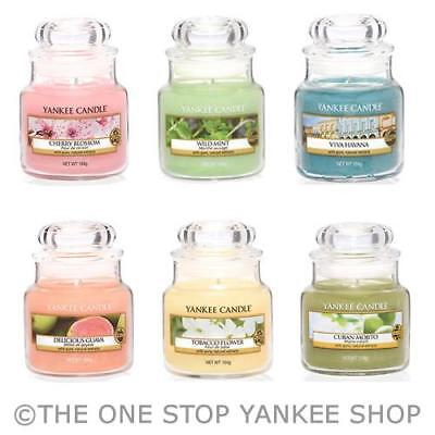 Yankee Candle Scented Small Jar Variety - SAVE 10% When you Buy 3+