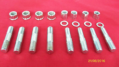 73-83 Triumph T140 New Cylinder Base Studs Nuts & Washers  Set Uk Made