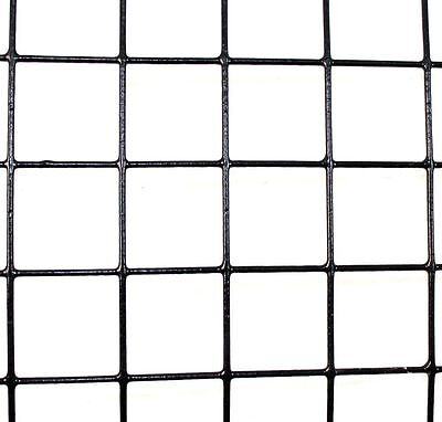 """3' x 100' 14 Gauge Welded Wire PVC Coated 2"""" x 2"""" Fence Mesh Animal Fencing"""