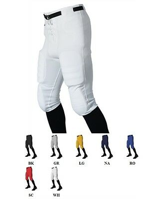 SALE New Alleson Athletic Football Pants Adult Mens Slotted Waist W/O Pads 615SL
