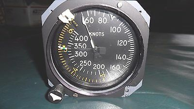DC-8  Airpeed Indicator, Kollsman. P/N A41447-10-024. Repaired Condition.
