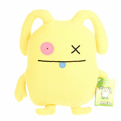 "UGLYDOLL Uglyverse Edition Yellow OX 12"" Limited 2009 Horvath Kim Ugly 90221 NWT"