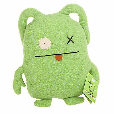 UGLYDOLL Misspeller OX Lime Green Early Ugly Doll Horvath Kim 1009-1 Rare NWT