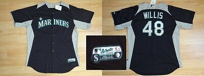 MLB Authentic Baseball Trikot/Jersey SEATTLE MARINERS Willis #48 GameUsed 52/XXL