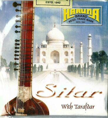 FAIR TRADE FULL SET OF 18 TOP BRANDED KARUNA INDIAN SITAR STRINGS 7+11 string