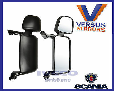 Scania Replacement Mirror Head Electric & Heated Suits 4R/P/T Right Hand