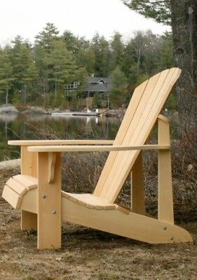 Adirondack Chair Plans - Full Size Patterns